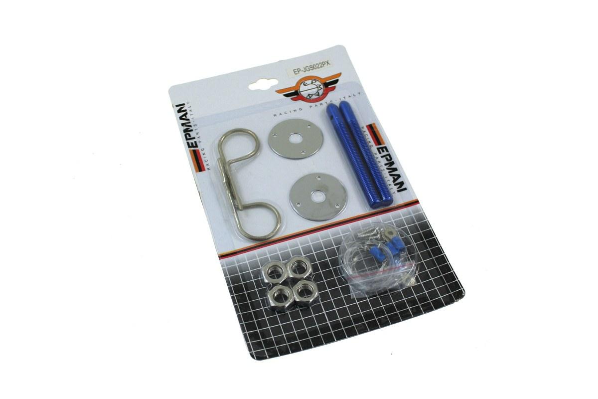 Zapinki maski Hair Pin Blue - GRUBYGARAGE - Sklep Tuningowy